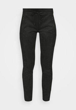LEVINA SOFT - Trousers - black