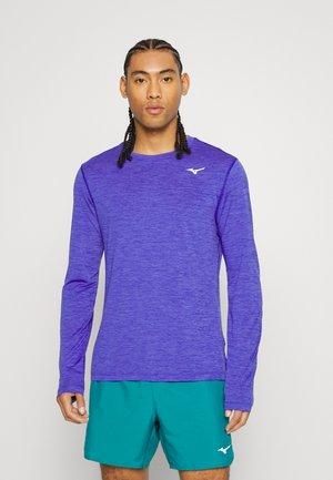 IMPULSE CORE TEE - Sports shirt - violet blue