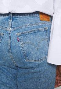 Levi's® Plus - 501® CROP - Straight leg -farkut - blue denim - 5
