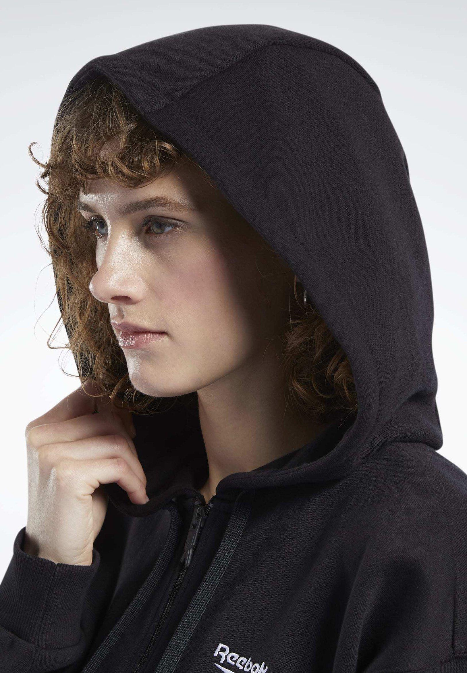 Reebok Classic veste en sweat zippée - black ITUzTCtq