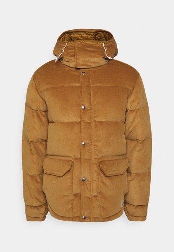 SIERRA PARKA UTILIT - Down jacket - utility brown
