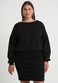 Urban Classics Curvy - LADIES DRESS - Denní šaty - black - 0
