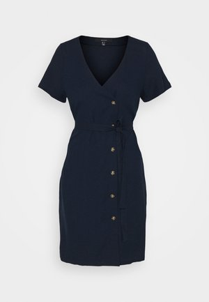 Shirt dress - navy blazer