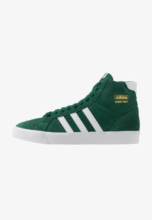 BASKET PROFI - Matalavartiset tennarit - collegiate green/footwear white/gold metallic