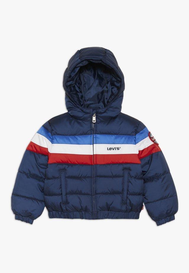 COLOR BLOCK PUFFER BABY  - Winter jacket - dress blues