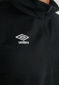 Umbro - HALF ZIP  - Top sdlouhým rukávem - black - 5