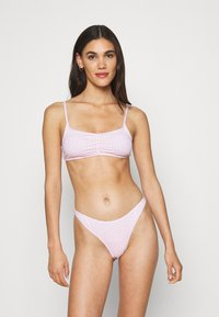 Cotton On Body - GATHERED FRONT TOP GATHERED BUM BRAZILIAN - Bikini - primrose - 0