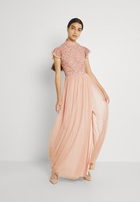 Lace & Beads - MAJA MAXI - Iltapuku - light pink - 1