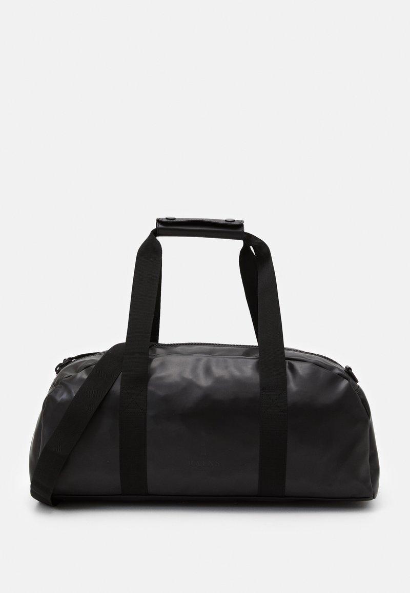 Rains - DAILY DUFFEL SMALL UNISEX - Sports bag - shiny black