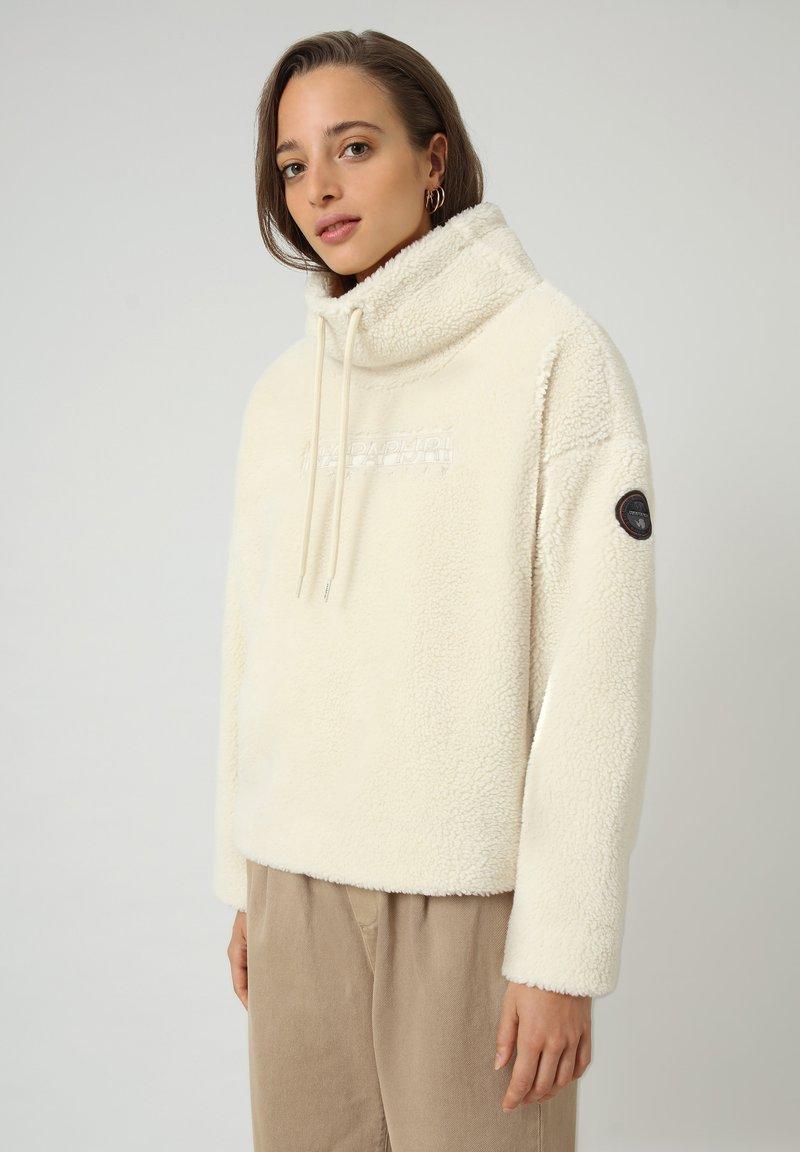 Napapijri - TEIDE - Fleece jumper - whitecap gray