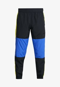 Nike Sportswear - ISSUE PANT - Træningsbukser - black/midnight navy/volt glow - 4