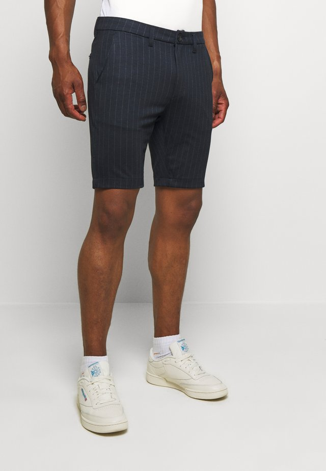 JASON CHINO PIN - Shorts - navy pin