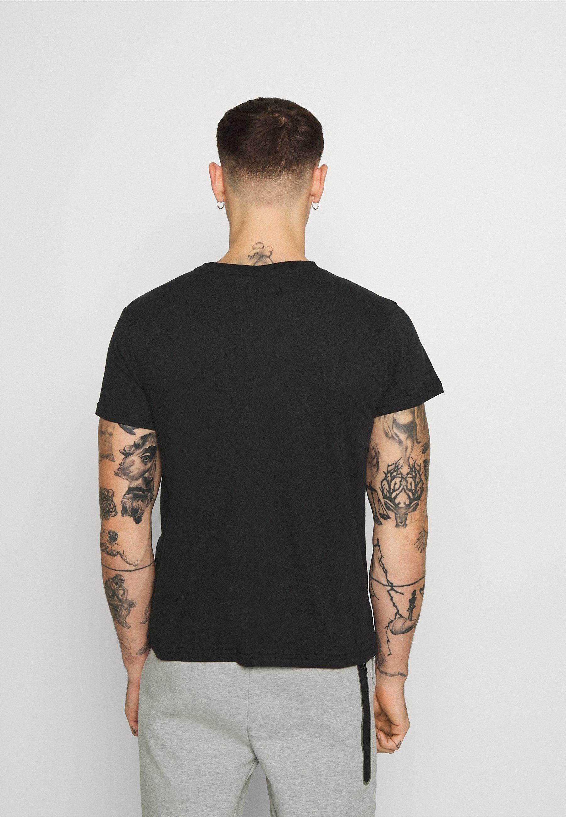 274 UTILITY  TEE - Print T-shirt - black 2vTkK