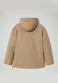Napapijri - RAINFOREST WINTER - Light jacket - beige portabel - 2