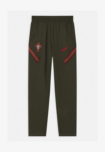 PORTUGAL UNISEX - National team wear - sequoia/sport red