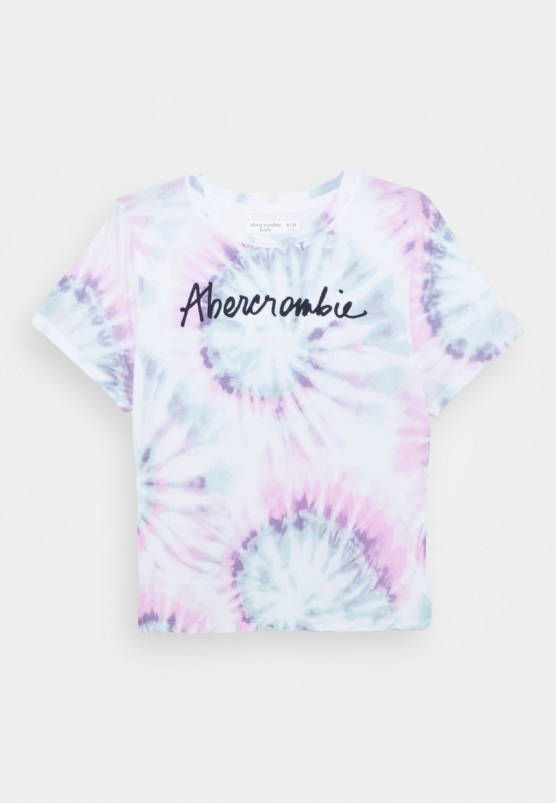 Abercrombie & Fitch - SCRUNCHIE TEE - T-shirt print - multi color