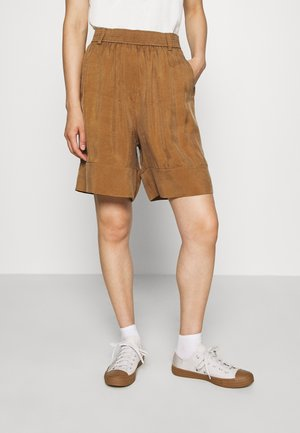 SHORT - Shorts - beige dark