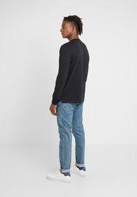 PS Paul Smith - ZEBRA - Long sleeved top - black - 2