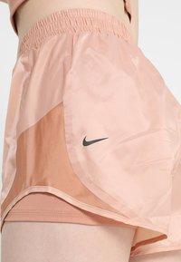 Nike Performance - TEMPO SHORT TECH PACK - Sports shorts - rose gold/reflective black - 5