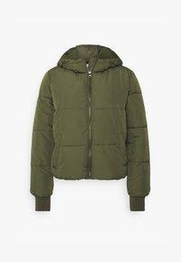 JDYNEWERICA HOOD - Winter jacket - forest night