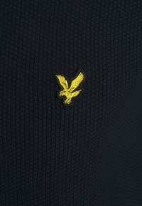 Lyle & Scott - TIPPED ZIP THROUGH - Cardigan - dark navy - 2