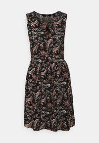Vero Moda - VMSIMPLY EASY SHORT DRESS - Kjole - black - 3