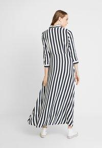 YAS - YASSAVANNA LONG DRESS - Maxi dress - carbon/star white - 3