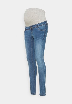 MLPAX HIGH BACK - Skinny-Farkut - medium blue denim