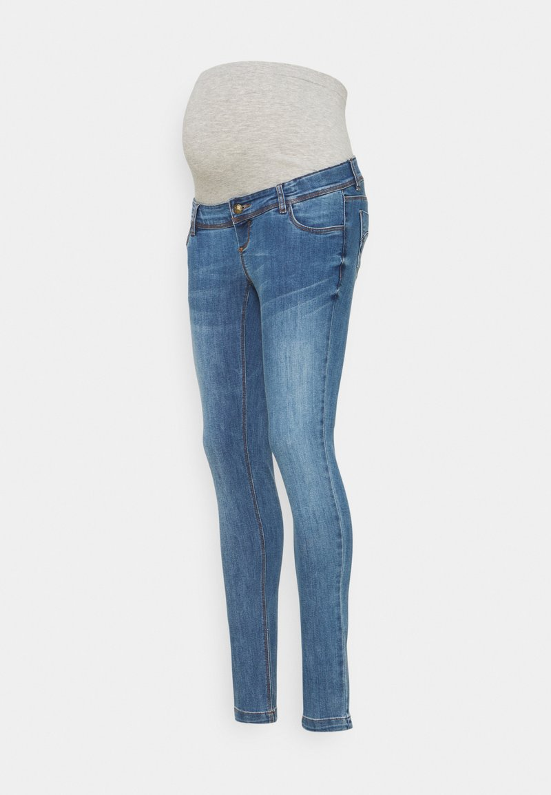 MAMALICIOUS - MLPAX HIGH BACK - Jeans Skinny Fit - medium blue denim