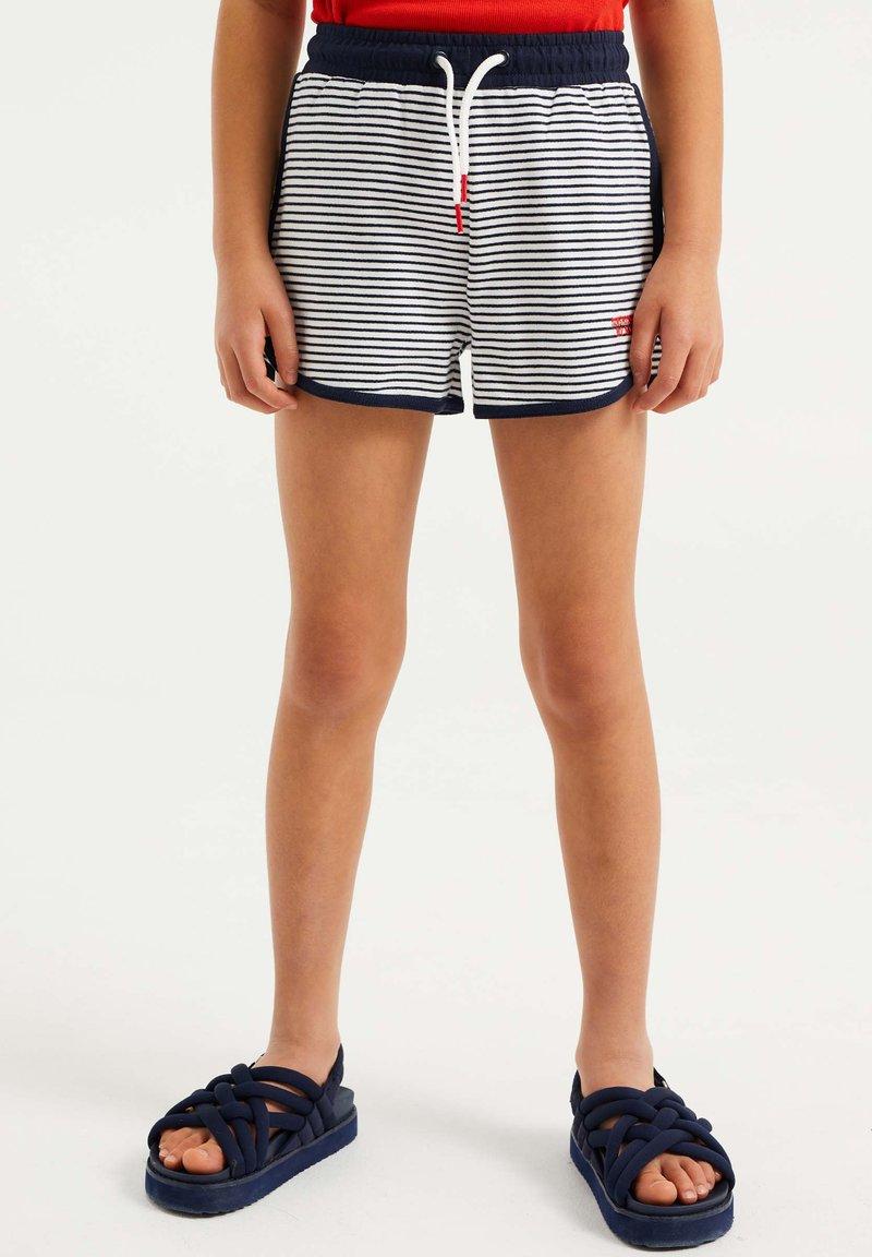 WE Fashion - 2 PACK - Shorts - dark blue