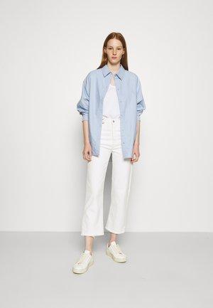 5 PACK - T-shirt basic - white/tan/rose/blue/black