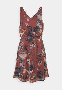 Vero Moda - VMWONDA NEW SINGLET SHORT DRESS - Day dress - rose/brown - 5