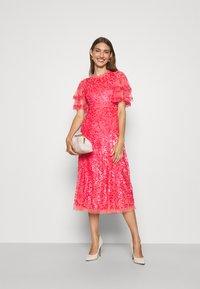 Needle & Thread - SEREN BALLERINA DRESS - Koktejlové šaty/ šaty na párty - watermelon pink - 1