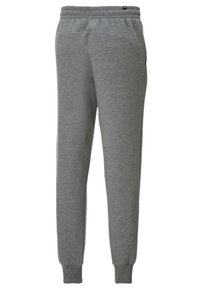 Puma - Tracksuit bottoms - medium gray heather-white - 1