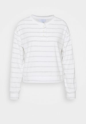 SUM TOWEL TERRY HENLEY - Pyjamashirt - heather varigated