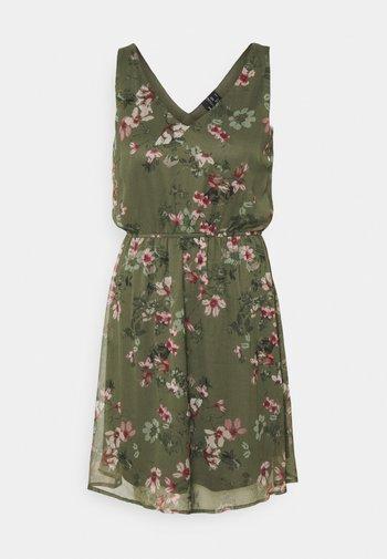 VMWONDA NEW SINGLET SHORT DRESS - Day dress - kalamata/liva