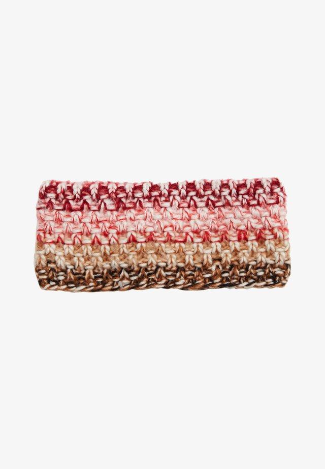 Ear warmers - beige knit