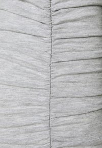 Missguided Petite - TIE NECK RUCHED MIDAXI DRESS - Maxi dress - grey - 2