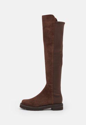 LIFT - Platform boots - walnut