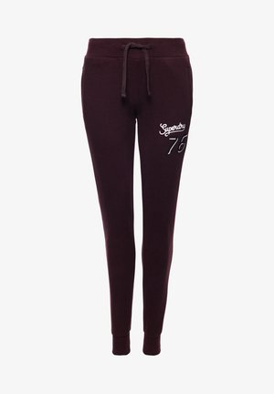Tracksuit bottoms - autumn blackberry
