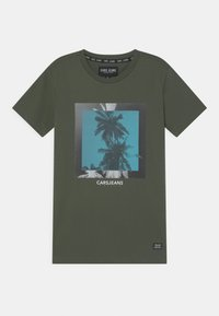 Cars Jeans - SIMMONS - Print T-shirt - army - 0