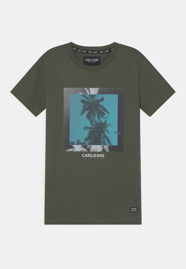 SIMMONS - T-shirt con stampa - army