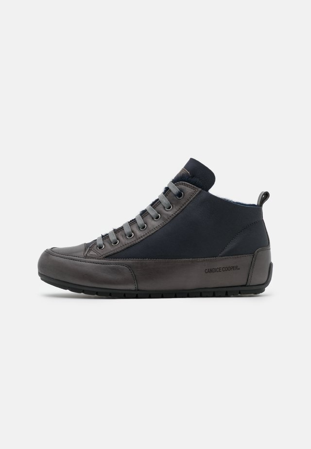 MIDMONT - High-top trainers - navy