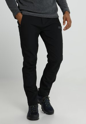 ZENON PANTS MEN - Outdoor trousers - black