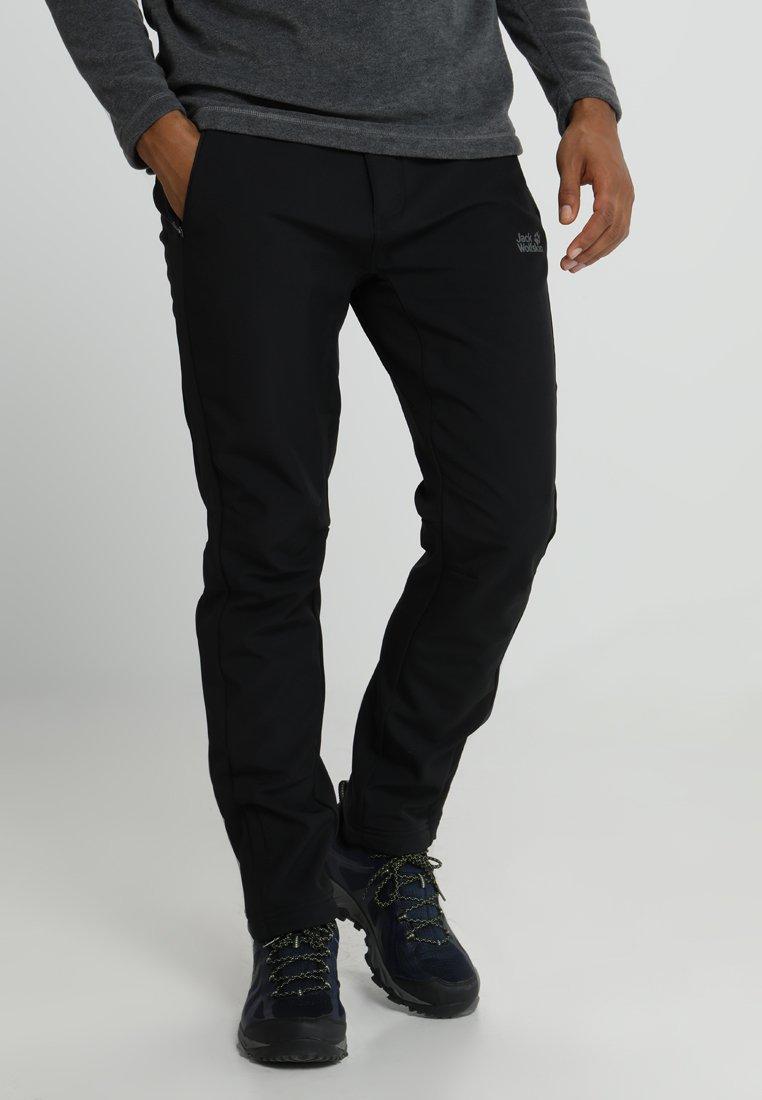 Jack Wolfskin - ZENON PANTS MEN - Outdoor trousers - black