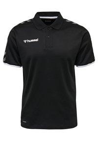 Hummel - HMLAUTHENTIC FUNCTIONAL  - Polo shirt - black/white - 0