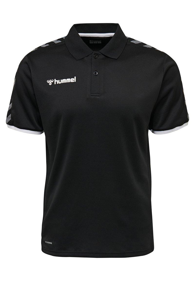 Hummel - HMLAUTHENTIC FUNCTIONAL  - Polo shirt - black/white