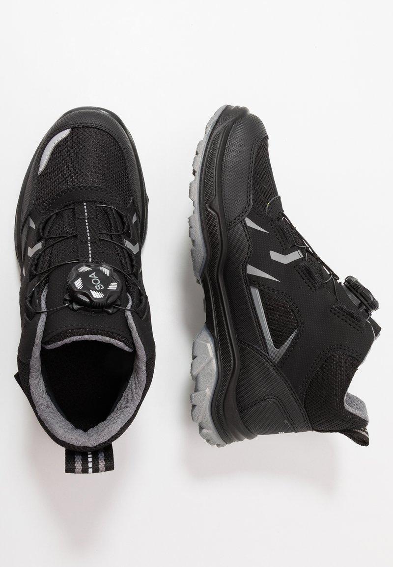 Superfit - JUPITER - High-top trainers - schwarz/grau