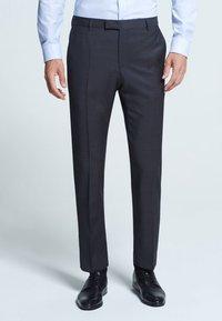 Strellson - MERCER - Suit trousers - anthracite mottled - 2