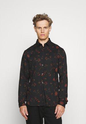 SHIRT - Shirt - black/red